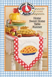 Gooseberry Patch Home Sweet Home Table Runner